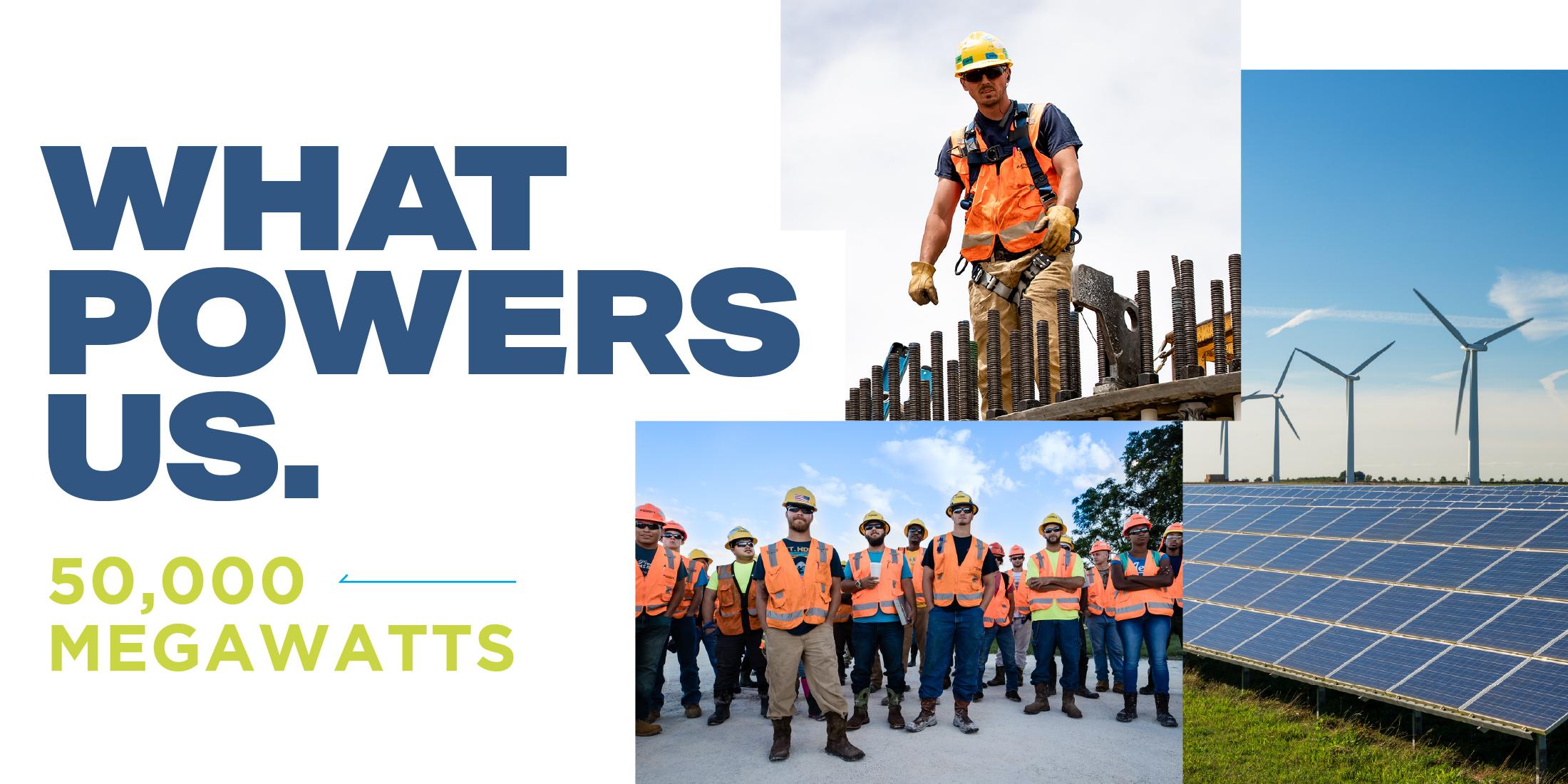 Blattner Reaches 50,000 Renewable Energy Megawatts Industry Milestone