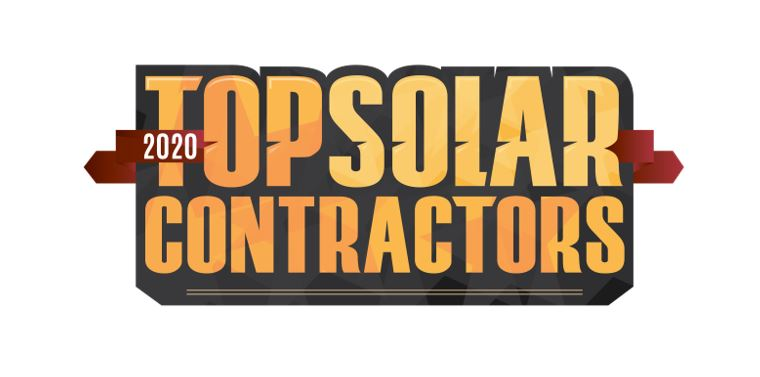 Number One Solar Contractor in 2020